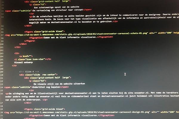 De Staat van ons Water: HTML